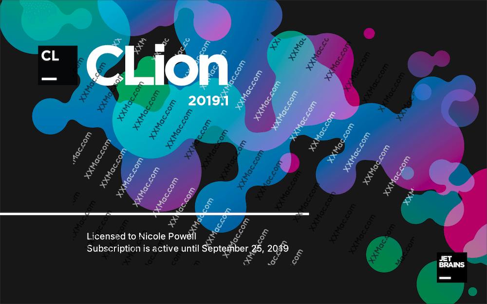 JetBrains CLion for Mac v2019.1.3 中文汉化破解版下载 C/C++ IDE工具