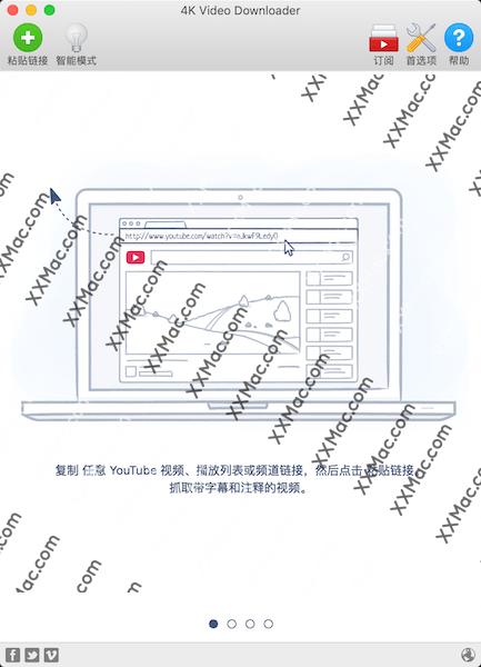 4K Video Downloader for Mac v4.7.3 中文破解版下载 4k视频下载软件