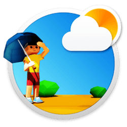 3DWeather for Mac v3.3 英文破解版下载 3D动画天气软件