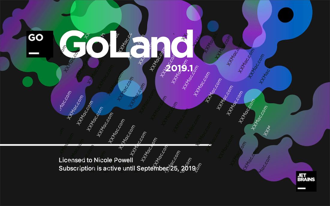 JetBrains GoLand 2019 for Mac v2019.1 中文汉化破解版下载 IDE开发工具