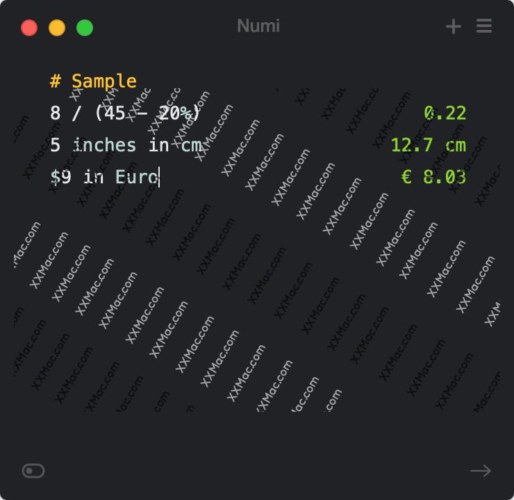 Numi for Mac v3.20.3 中文破解版下载 多功能计算器软件