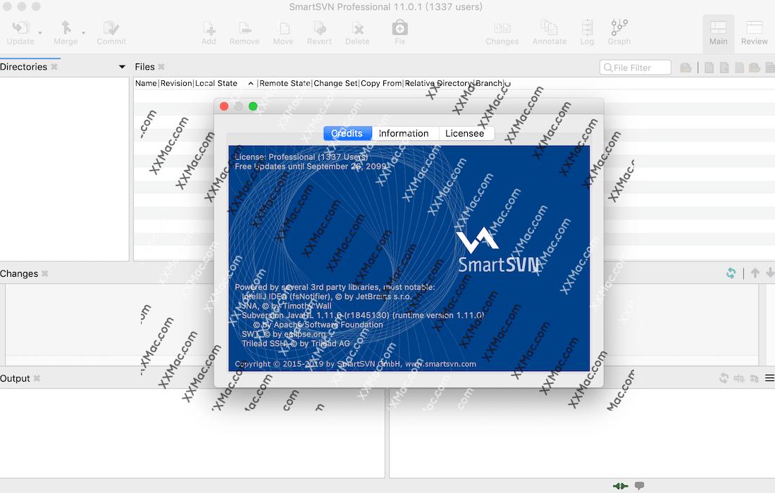SmartSVN 11 for Mac v11.0.1 英文破解版下载 SVN客户端