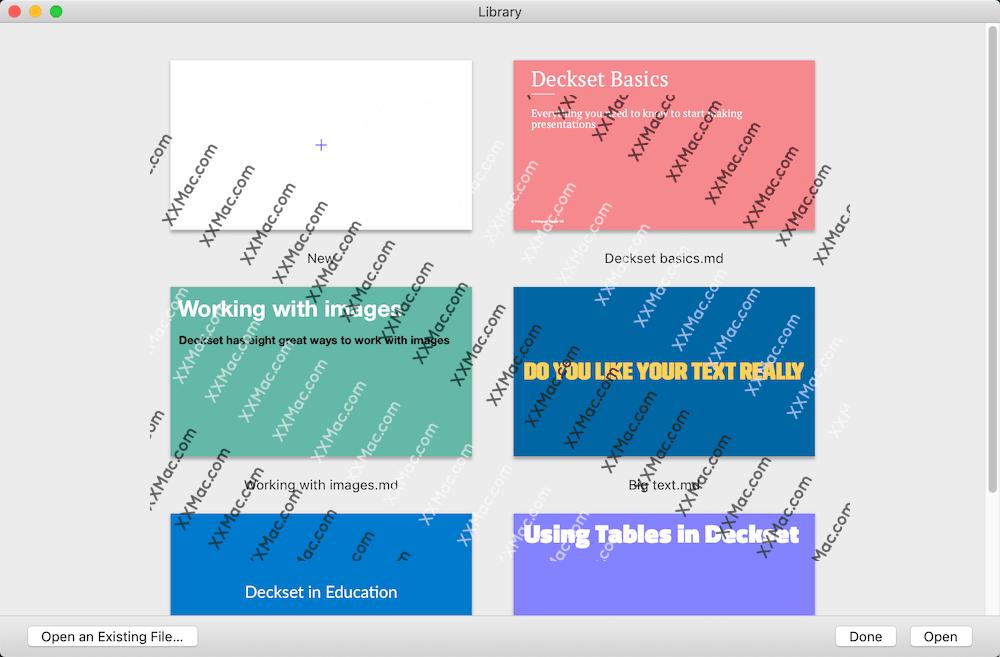 Deckset Mac v2.0.11 英文破解版下载 幻灯片制作软件