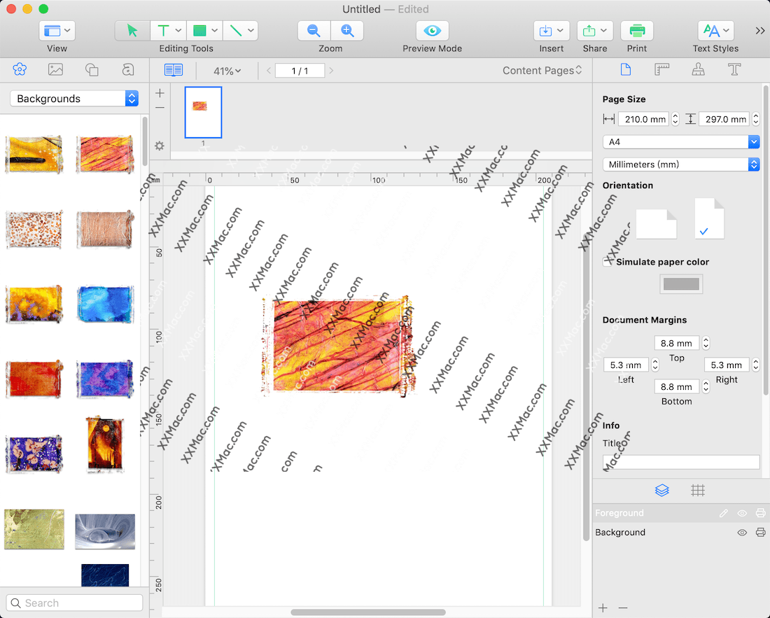 Printworks 2 for Mac v2.0.7 英文破解版下载 平面设计软件