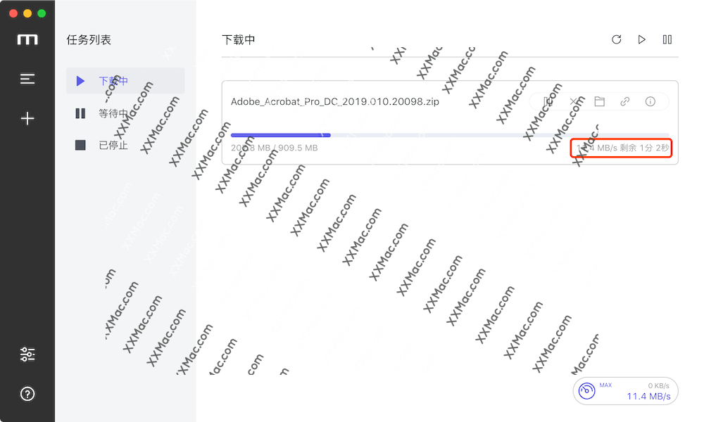Motrix for Mac v1.3.8 中文版下载 百度网盘加速下载软件