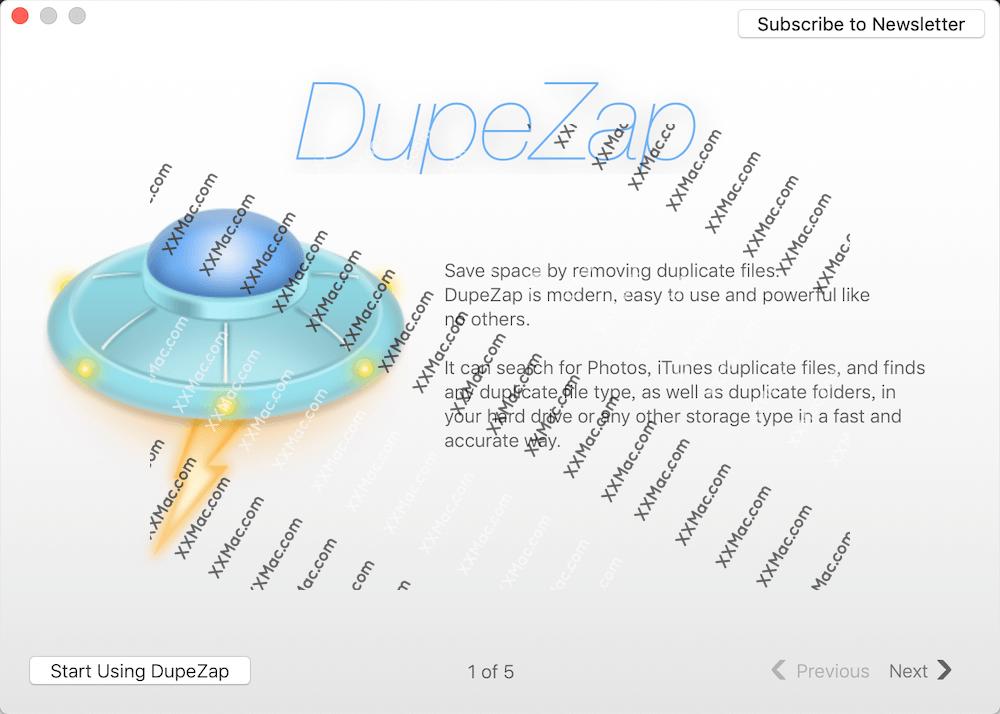 DupeZap for Mac v4.0.8 英文破解版下载 重复文件查找与清理软件