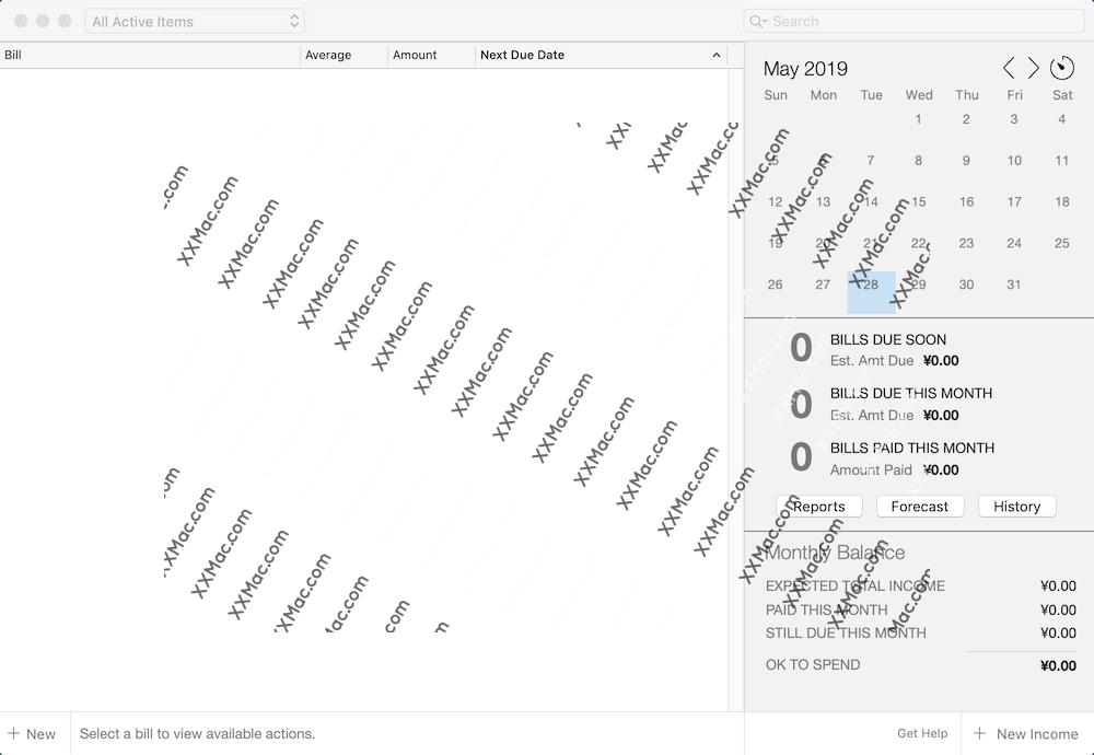 Chronicle Pro for Mac v9.1.1 英文破解版下载 财务管理软件