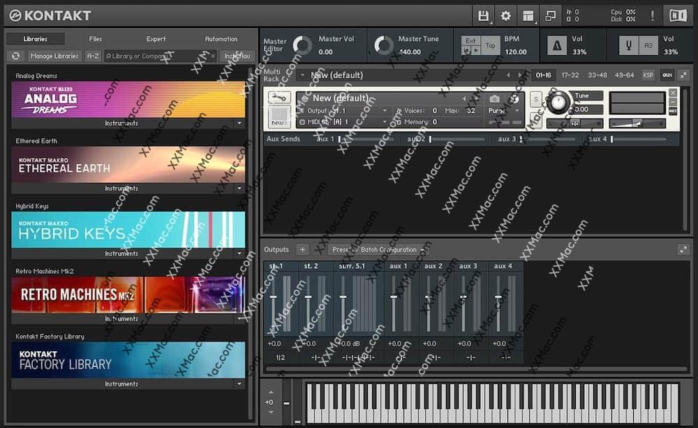 Native Instruments Kontakt 6 for Mac v.6.1.1 英文破解版下载 专业采样器