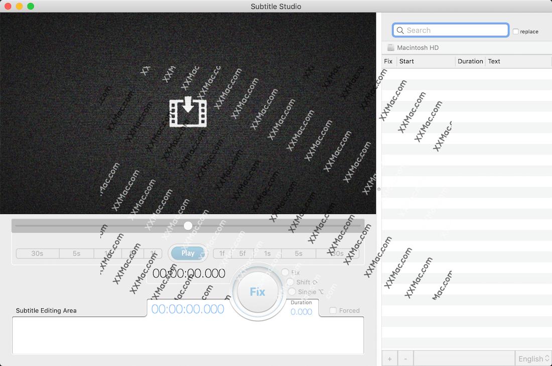 Subtitle Studio for Mac v1.5.2 英文破解版下载 影片字幕制作软件