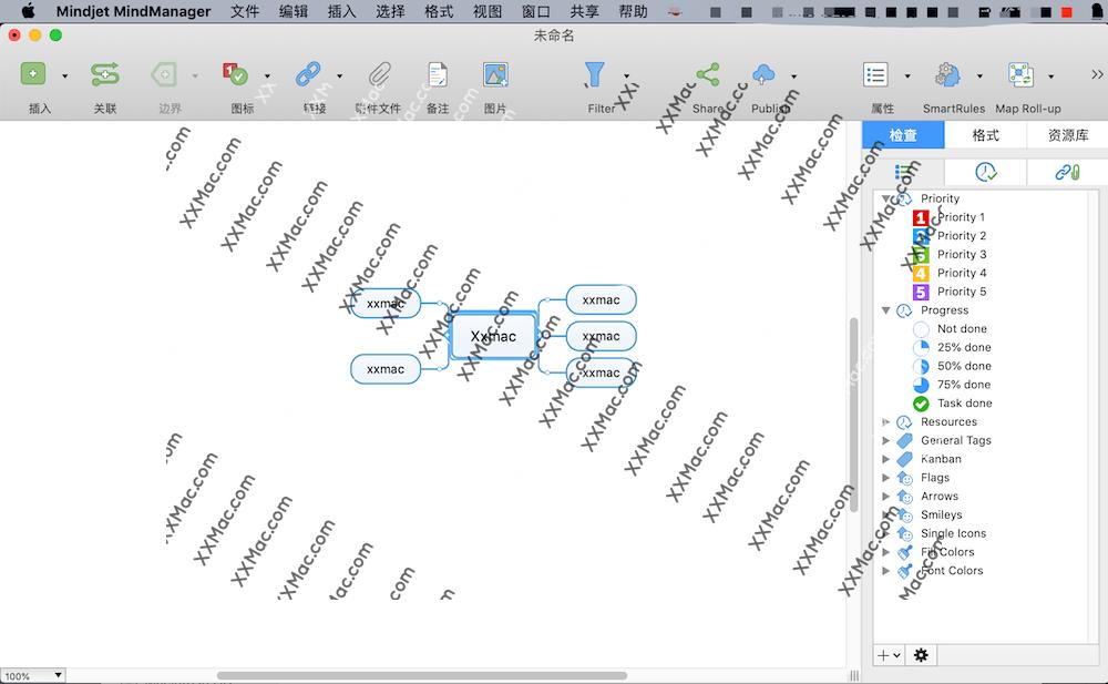 Mindjet MindManager 2019 for Mac v12.1.183 中文汉化破解版下载 思维导图软件