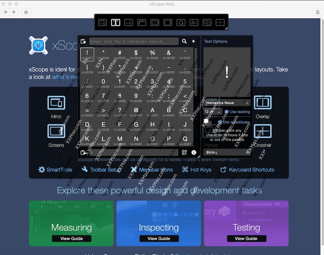 xScope for Mac v4.3.3 英文破解版下载 设计开发辅助工具