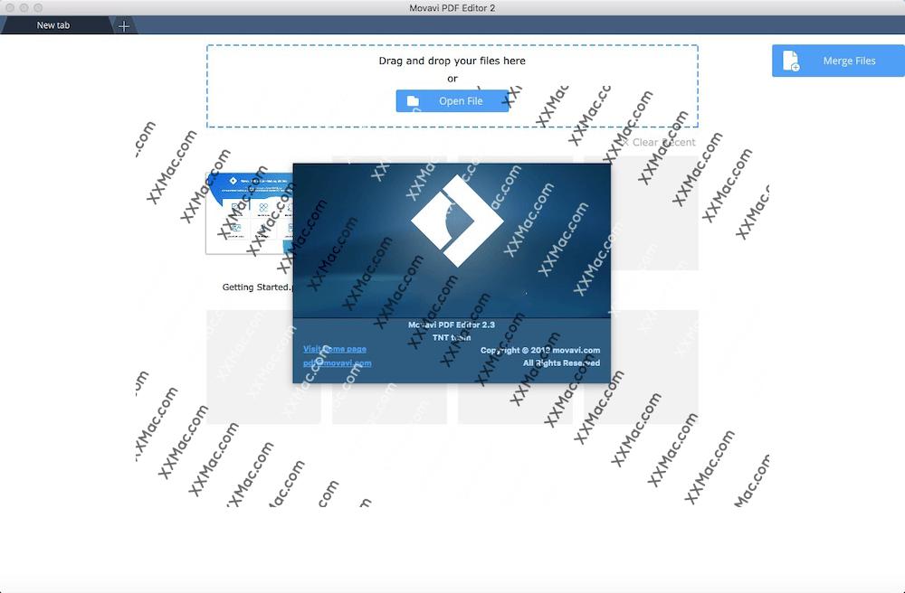 Movavi PDF Editor for Mac v3.1.0 英文破解版下载 PDF编辑软件