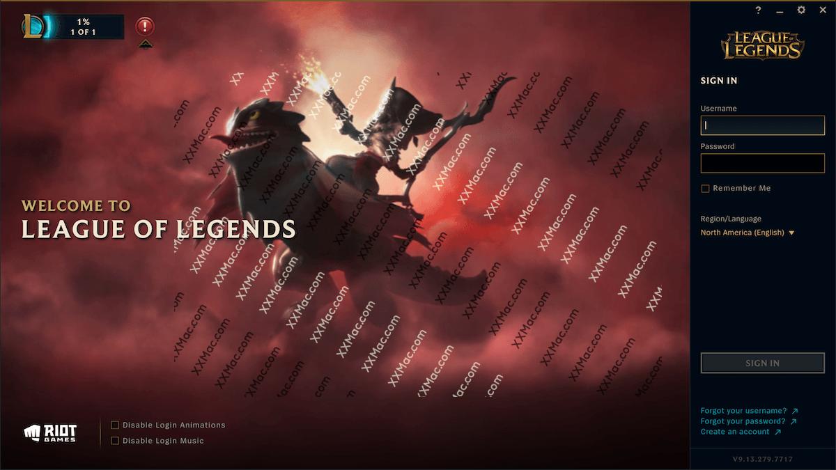 英雄联盟 League of Legends for Mac v9.17 官方版下载 美服lol Mac版