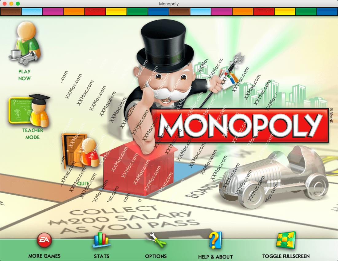 地产大亨 (Monopoly) for Mac 英文破解版下载 桌面策略游戏
