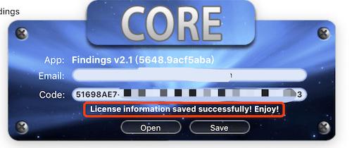 Findings for Mac v2.1 英文破解版下载 实验记录软件