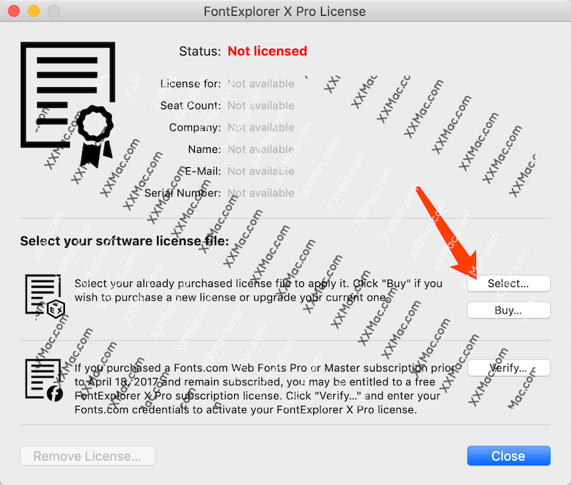 FontExplorer X Pro Mac v7.2.6 英文破解版下载 字体管理软件