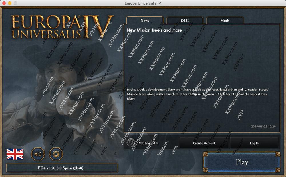 欧陆风云4(Europa Universalis IV) Mac v1.28.3 英文破解版下载 策略游戏