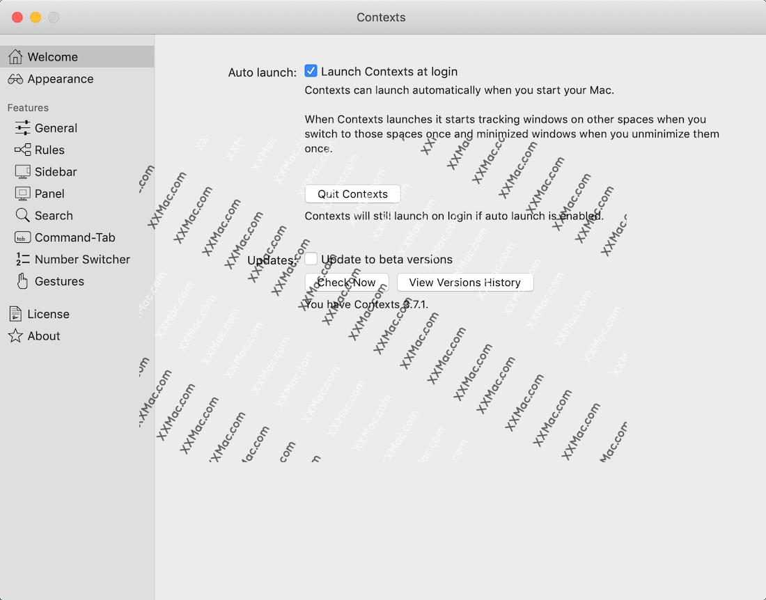 Contexts Mac v3.7.1 英文破解版下载 窗口管理工具