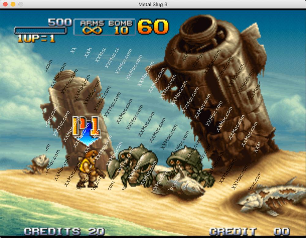 合金弹头 3 Metal Slug 3 Mac v1.0 中文破解版下载 2D横版射击游戏