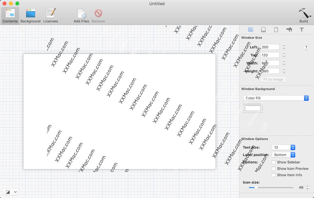 DMG Canvas for Mac v3.0.15 中文汉化破解版下载 制作DMG镜像工具
