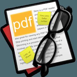 Skim for Mac v1.4.29 中文破解版下载 PDF阅读软件