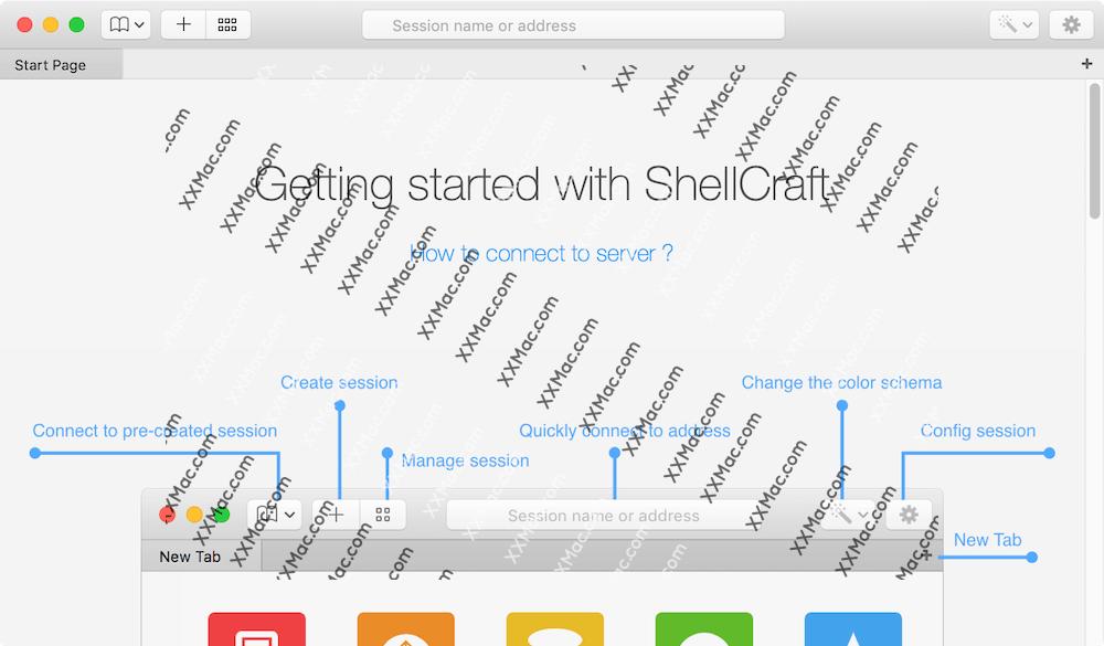 ShellCraft for Mac v1.0.8 英文破解下载 SSH/Telnet客户端
