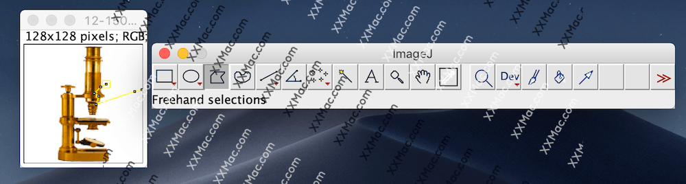 ImageJ for Mac v1.52q 英文官方版下载 图像处理软件