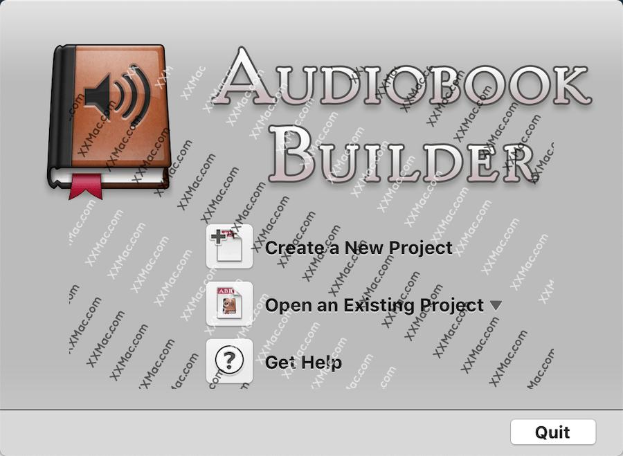 Audiobook Builder for Mac v2.0.2 英文破解版下载 有声书制作工具