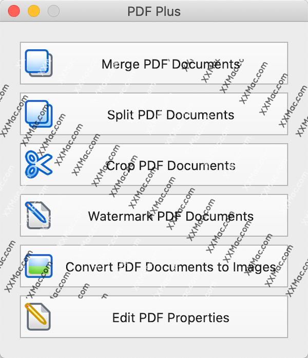 PDF Plus for Mac v1.3 英文破解版下载 PDF文件处理软件