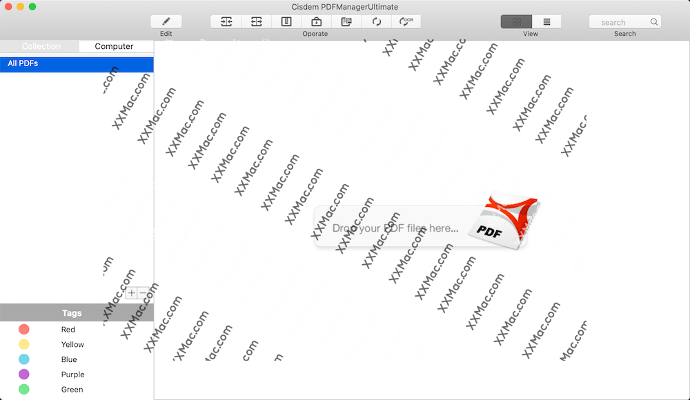 Cisdem PDF Manager Ultimate for Mac v3.2.0 英文破解版下载 PDF编辑管理工具