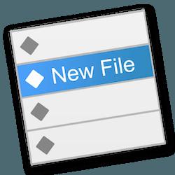 New File Menu for Mac v1.4.3 中文破解版下载 右键创建文档工具
