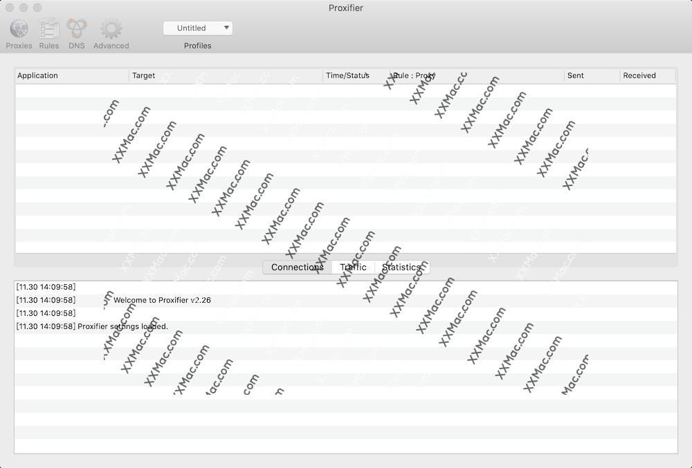 Proxifier for Mac v3.4.1 英文破解版下载 socks5客户端