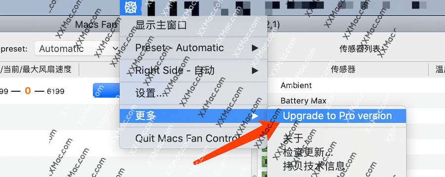 Macs Fan Control Pro Mac v1.5.9.29 中文破解版下载 风扇转速调节软件