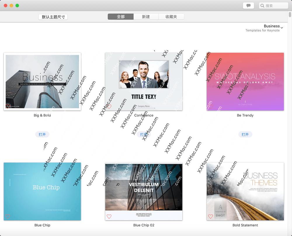 Templates for Keynote DesiGN for Mac v7.3 英文破解版下载 Keynote模板包
