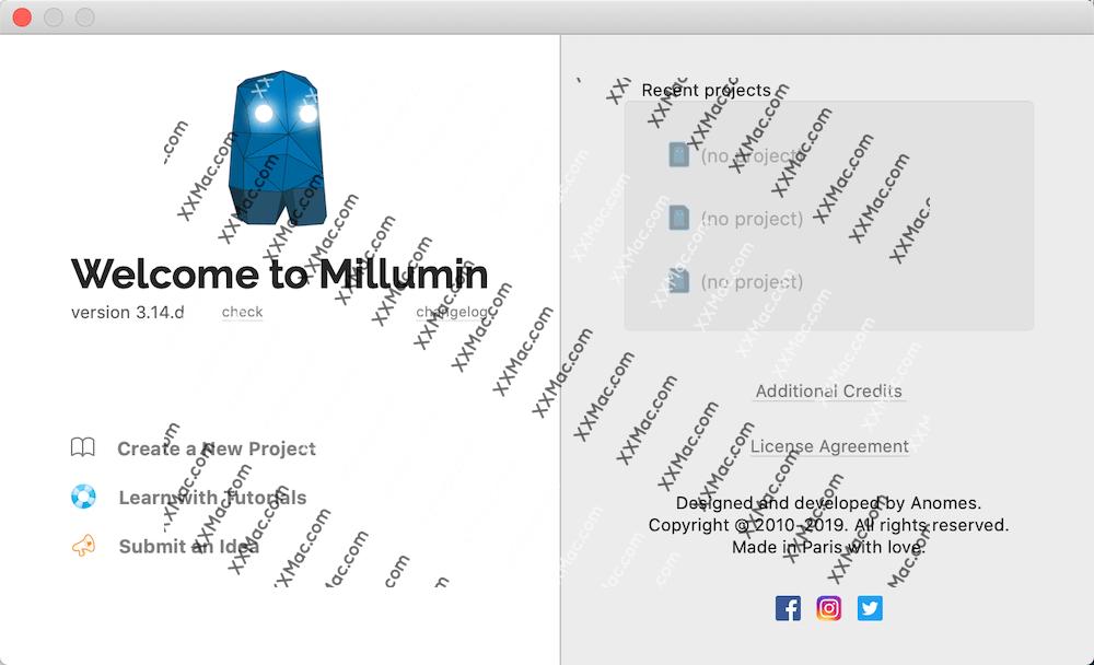 Millumin3 for Mac v3.14.f 英文破解版下载 视频剪辑软件