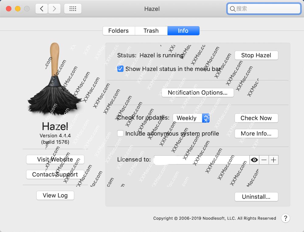 Hazel for Mac v4.4.4 英文破解版下载 自动清理软件