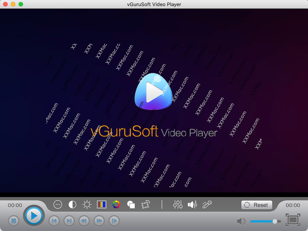 vGuruSoft Video Player for Mac v1.6.0 中文版下载 高清视频播放器