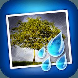 JixiPix Rainy Daze for Mac v1.22 英文破解版下载 照片雨滴效果特效软件