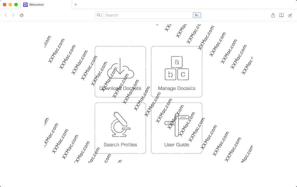 Dash for Mac v5.5.1 英文破解版下载 代码API文档管理软件