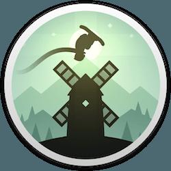 阿尔托的冒险 Alto's Adventure for Mac v1.0.3 中文破解版下载 滑雪跑酷类游戏