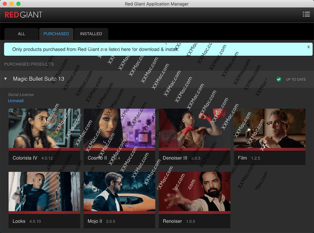 Red Giant Magic Bullet Suite for Mac v13.0.17 英文破解版下载 红巨人调色降噪插件合集