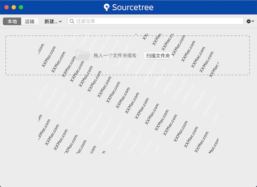 SourceTree for Mac v4.1.2 官方中文版下载 Github管理神器