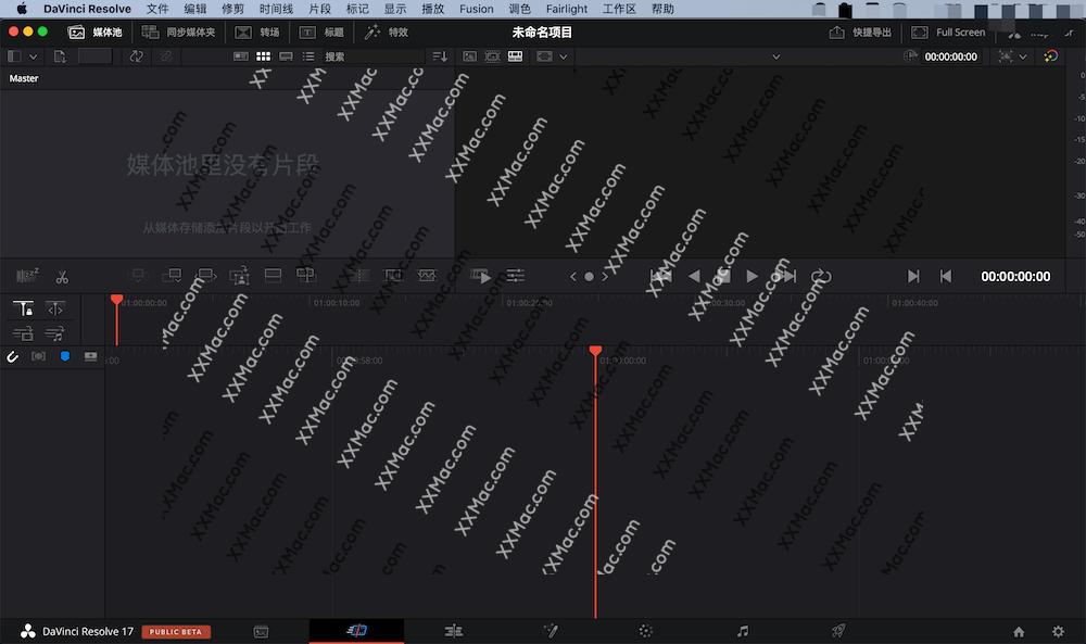 DaVinci Resolve Studio 17 for Mac v17.1.0b 中文破解版下载 达芬奇调色软件