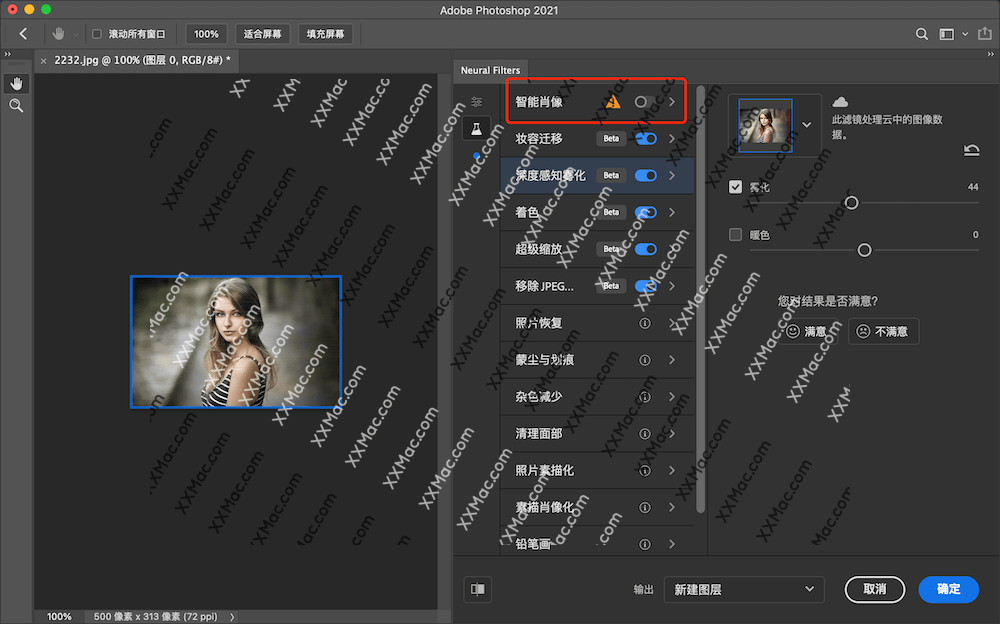 Neural Filters for Mac v22.5.0 下载 PS2021滤镜库