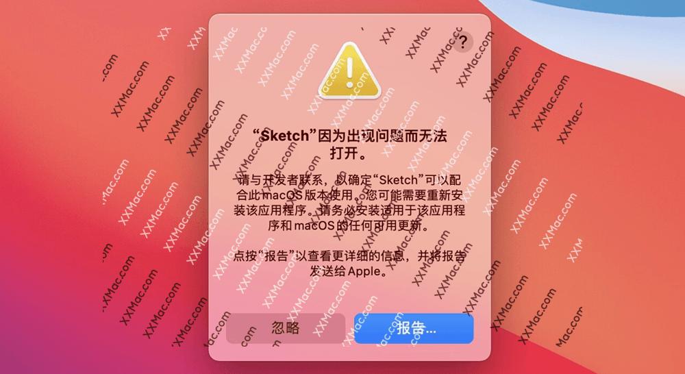 Apple M1 芯片打开软件闪退并提示:因为出现问题而无法打开 怎么解决?
