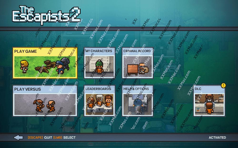 逃脱者2 TheEscapists2 for Mac v1.1.0 英文破解版下载 动作冒险游戏