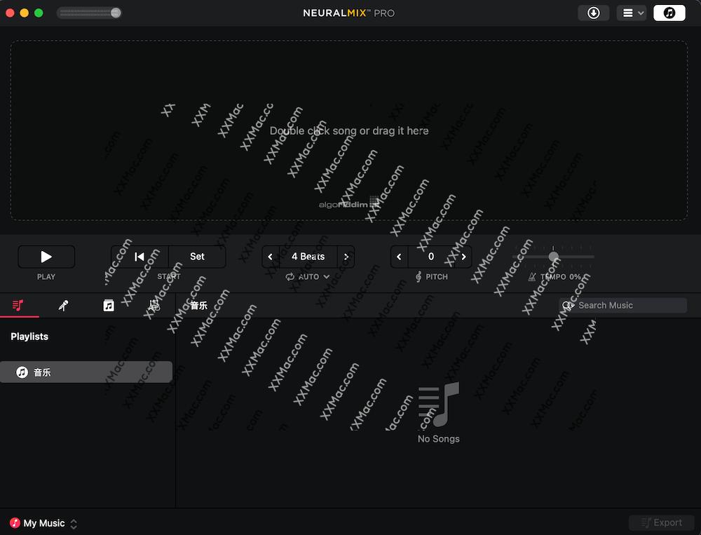 Neural Mix Pro for Mac v1.0.5 英文破解版 歌曲伴奏人声提取软件