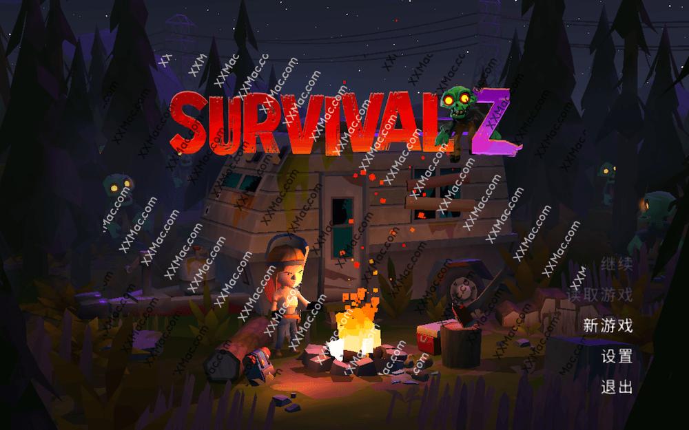Survival Z for Mac v1.1.3 中文版 动作射击游戏