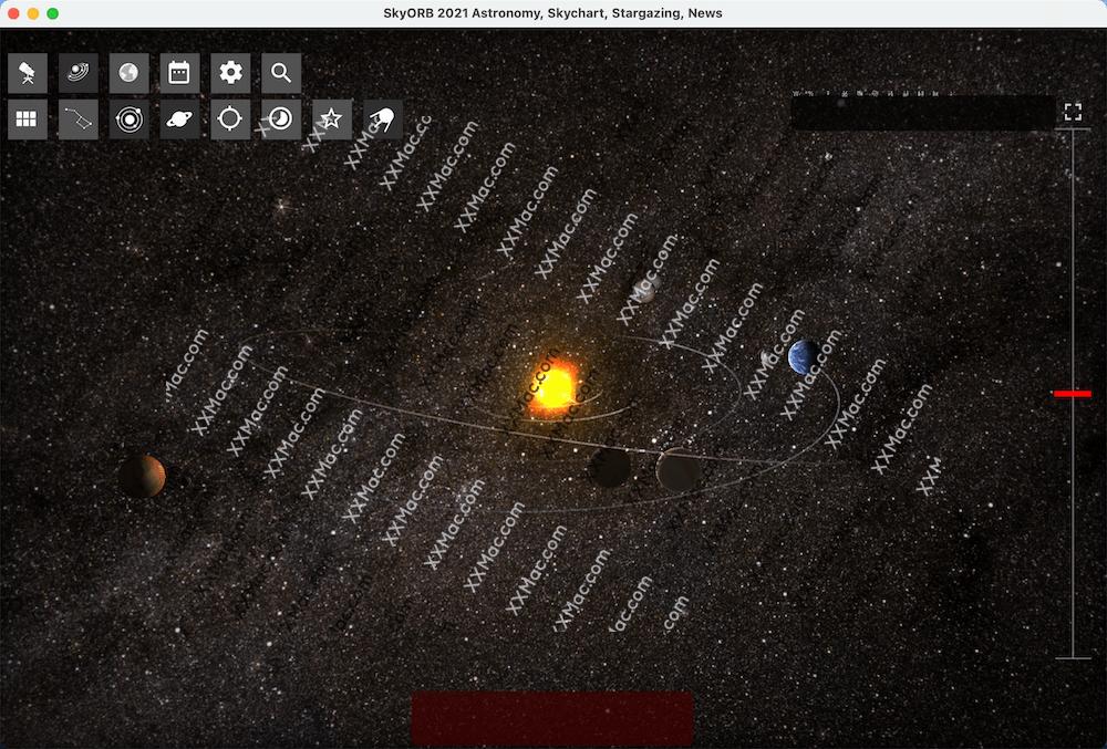 SkyORB 2021 for Mac v2021.8.1 英文破解版 天文探测学习软件